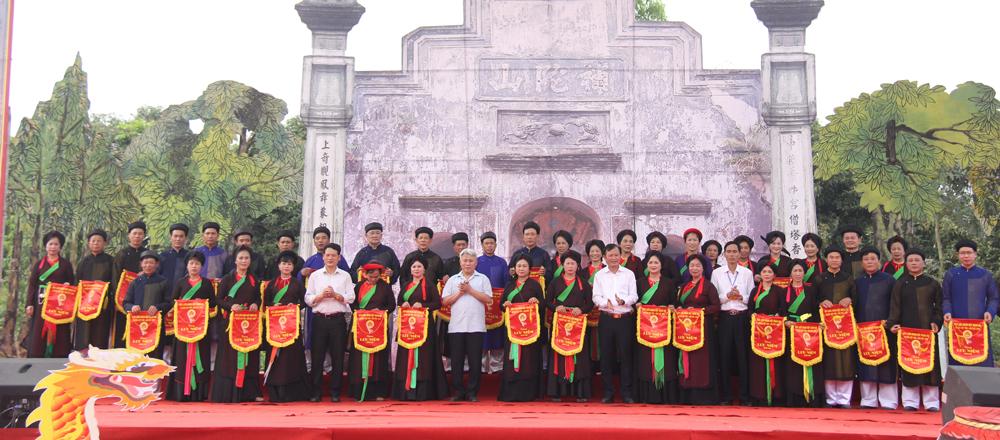 Khai mạc Liên hoan hát quan họ huyện Việt Yên lần thứ XVIII năm 2018
